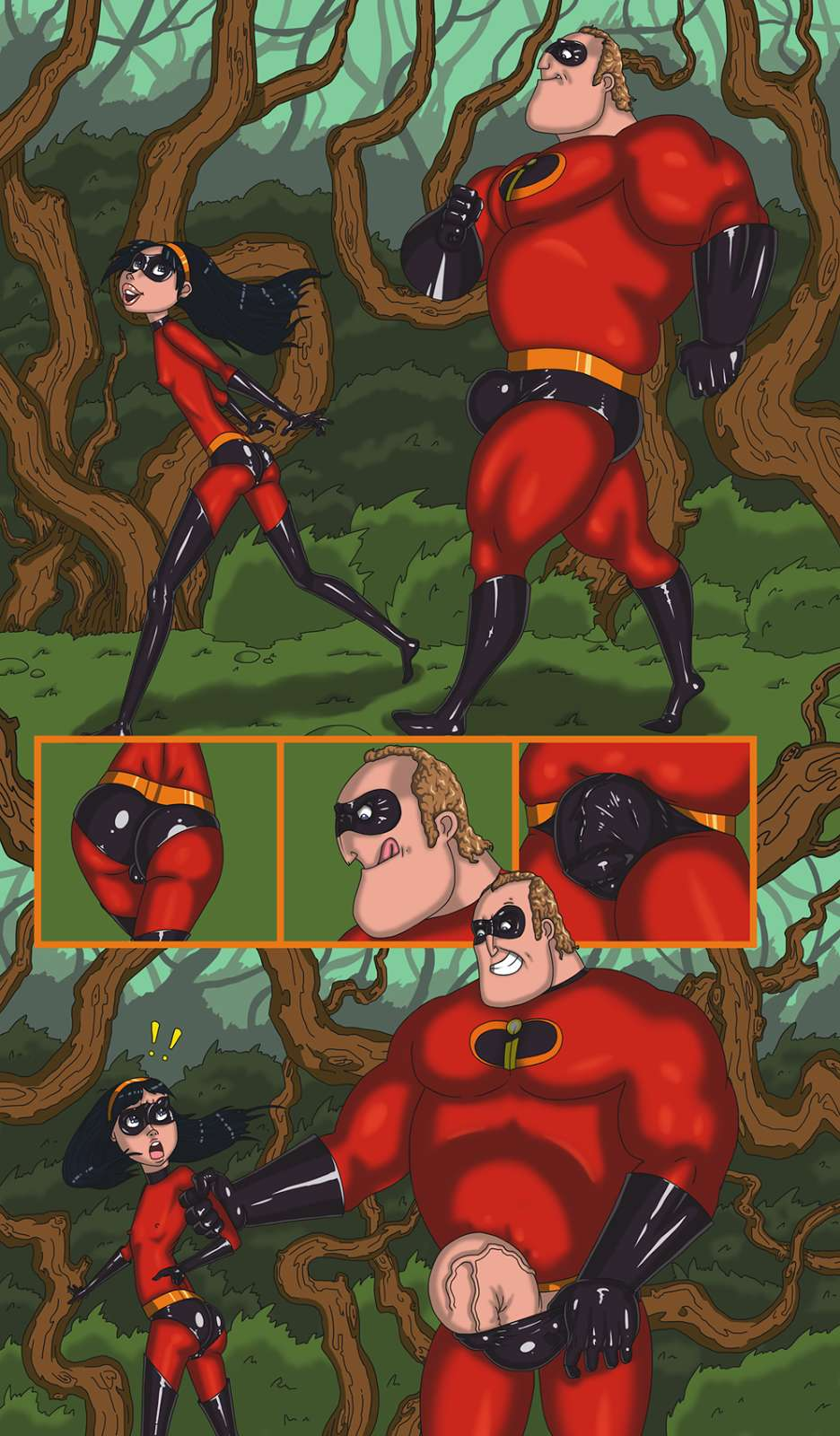 The Incredibles – Walk With Dad porn comics 8 muses