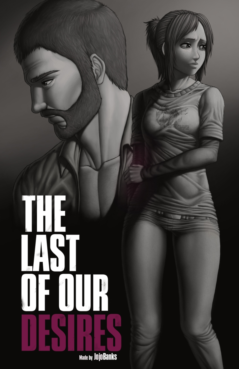 The Last of Our Desires- Last of Us porn comics 8 muses