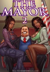 The Mayor 2- Blacknwhite porn comics 8 muses