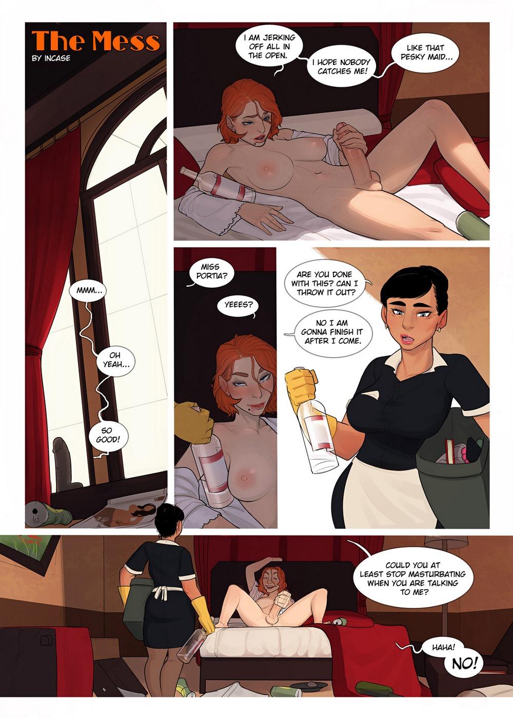 InCase- The Mess 1 & 2 porn comics 8 muses