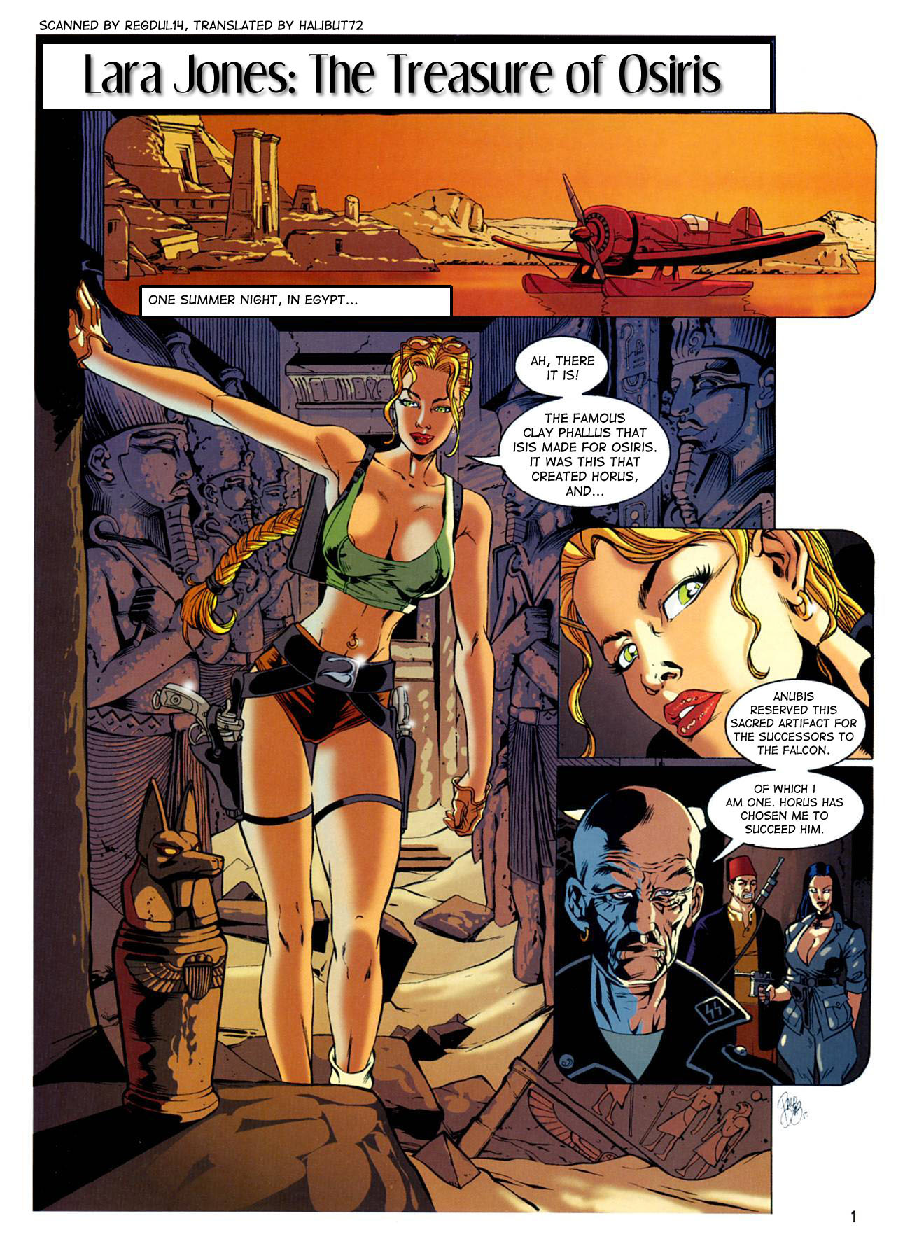 The Treasure of Osiris- Lara Jones porn comics 8 muses