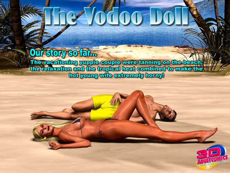 The Vodoo Doll- 3D Interracial porn comics 8 muses
