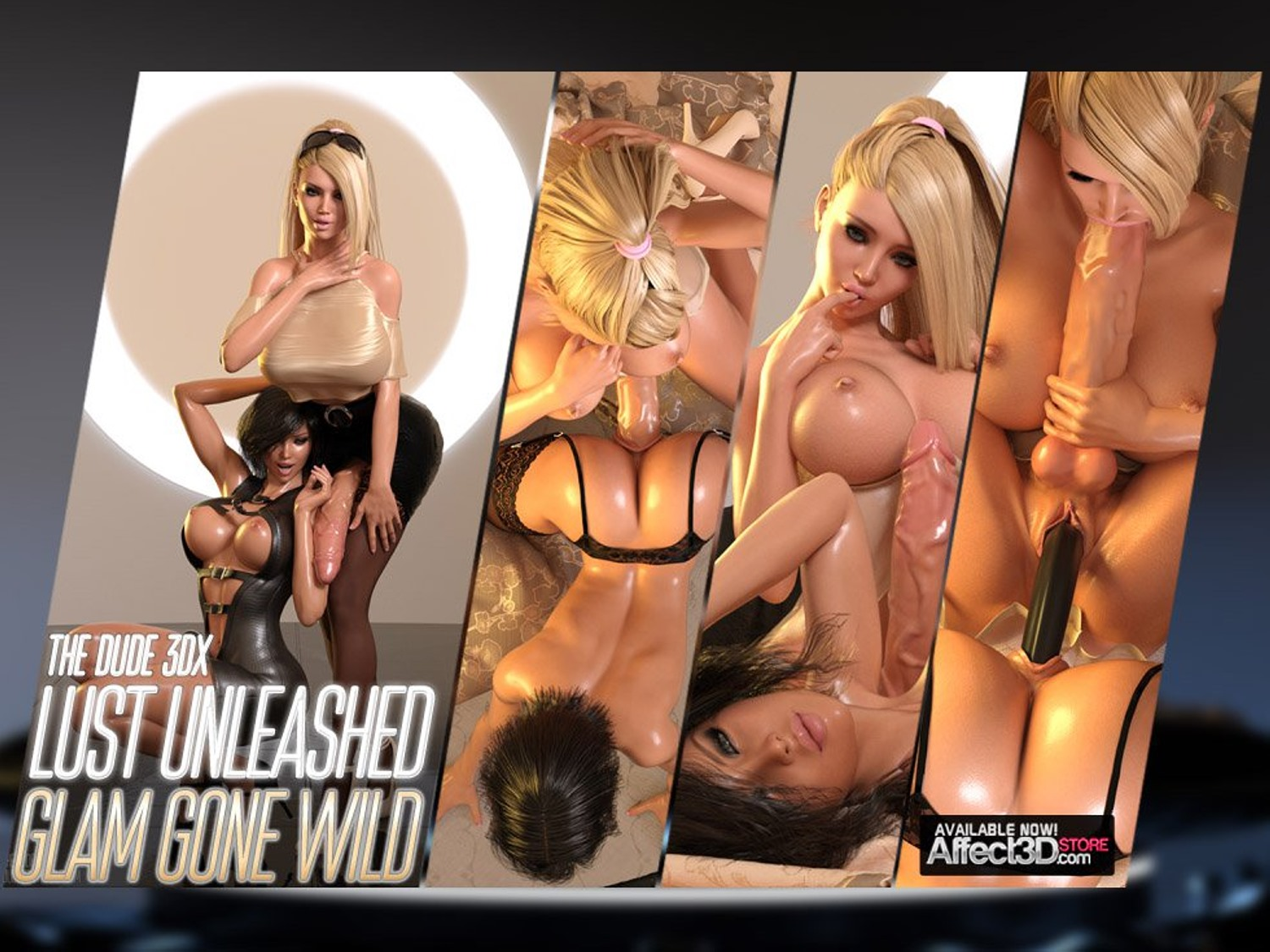 Lust Unleashed – Glam Gone Wild porn comics 8 muses