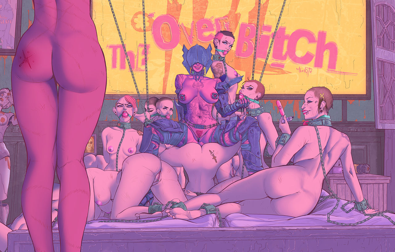 TheKite- The Overbitch porn comics 8 muses