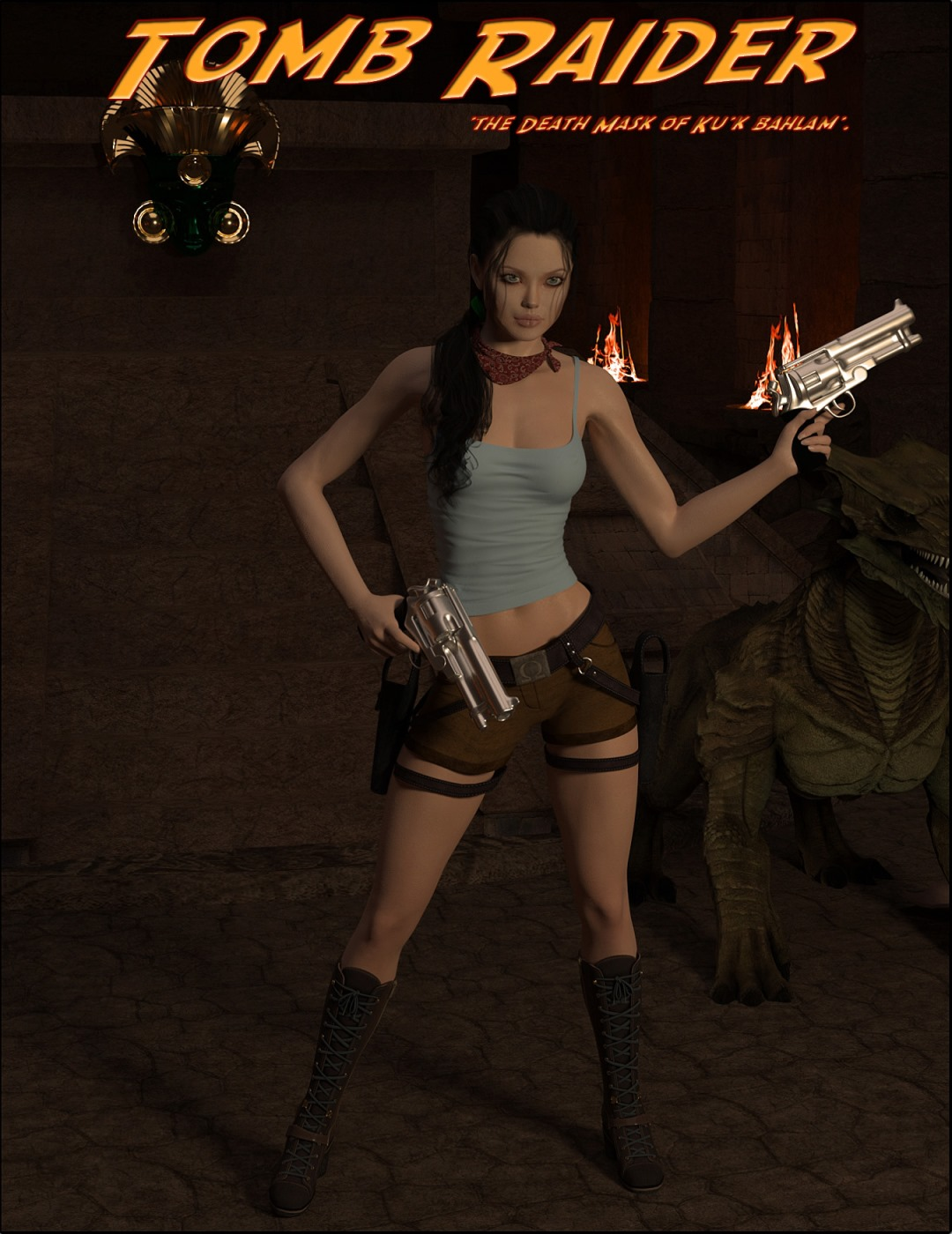 Tomb Raider – Death Mask of 'Ku'k Bahlam' porn comics 8 muses