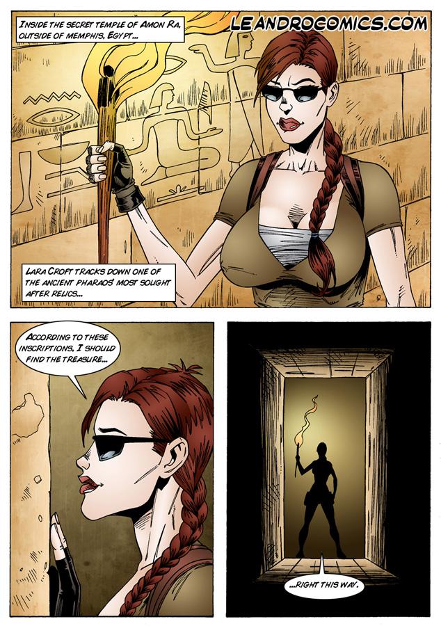 Tomb Raider- The Pyramids of Egypt porn comics 8 muses
