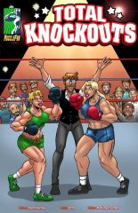 Total Knockouts 01- Muscle Fan porn comics 8 muses