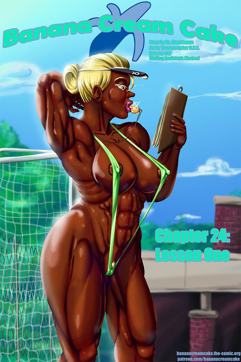 Banana Cream Cake 24- Lesson One porn comics 8 muses