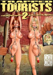 Trapped Tourists 2- Fansadox Collection 90 porn comics 8 muses