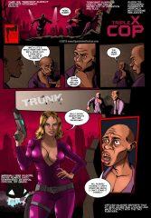 Triple X Cop porn comics 8 muses