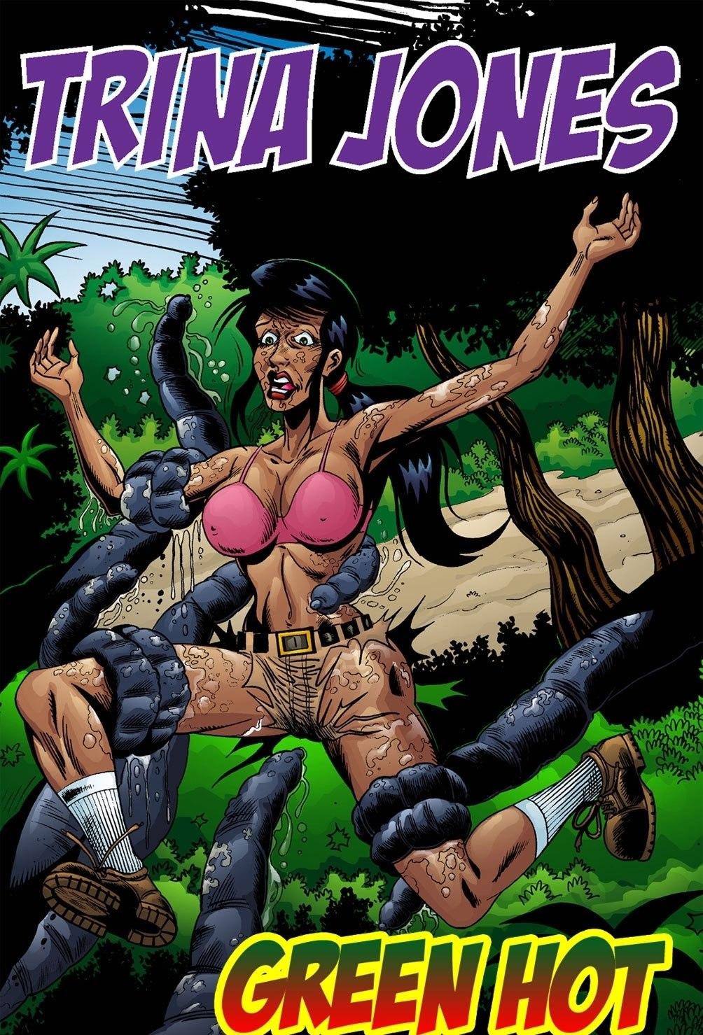Trina Jones Green Hot porn comics 8 muses