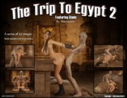 Trip to Egypt 2- Blackadder porn comics 8 muses