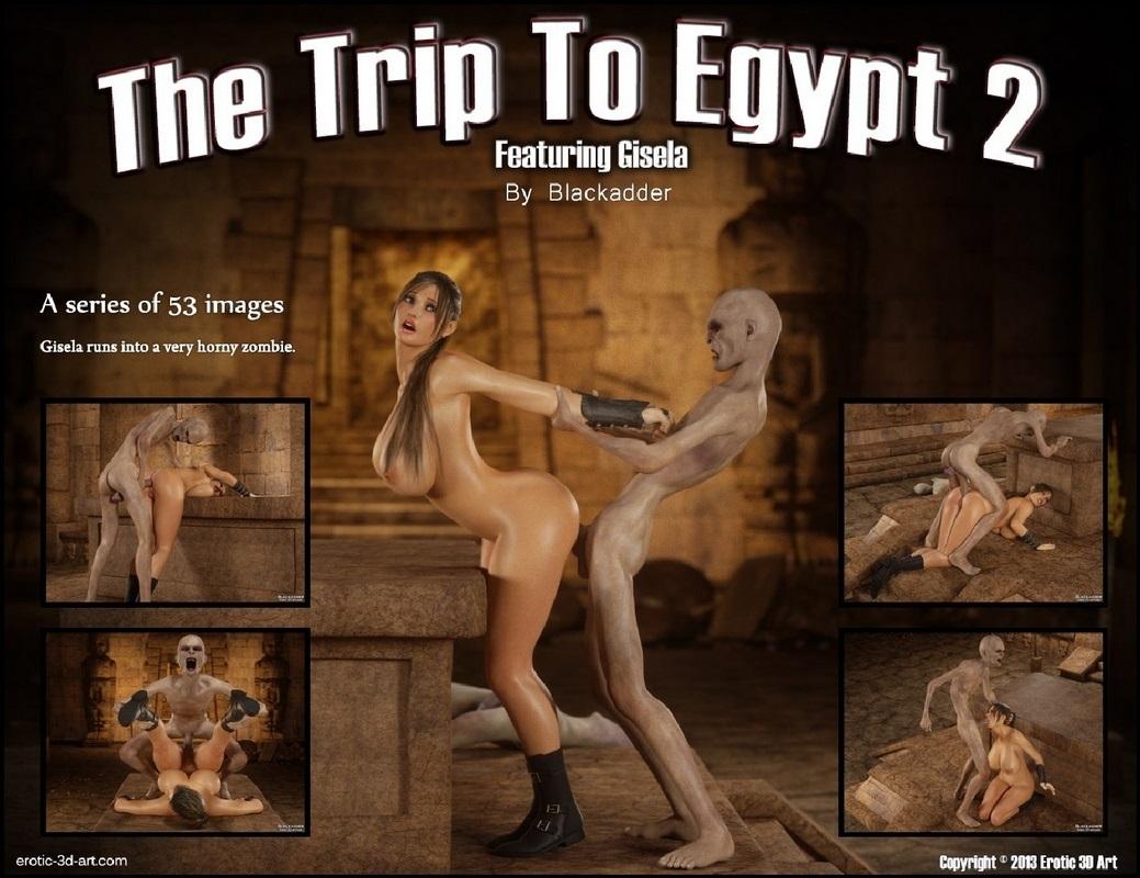 Trip to Egypt 2- Blackadder image 1