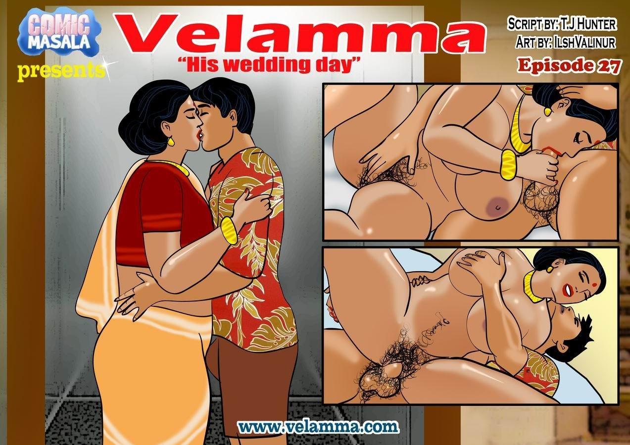 Velamma 27- His Wedding Day porn comics 8 muses