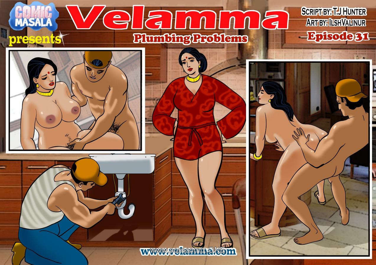 Velamma 31- Plumbing Problems porn comics 8 muses