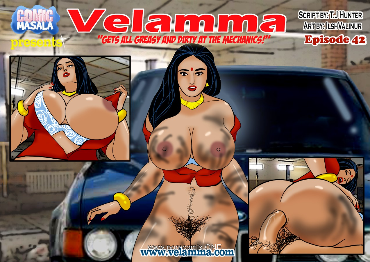 Velamma 42- Gets all Greasy and Dirty porn comics 8 muses