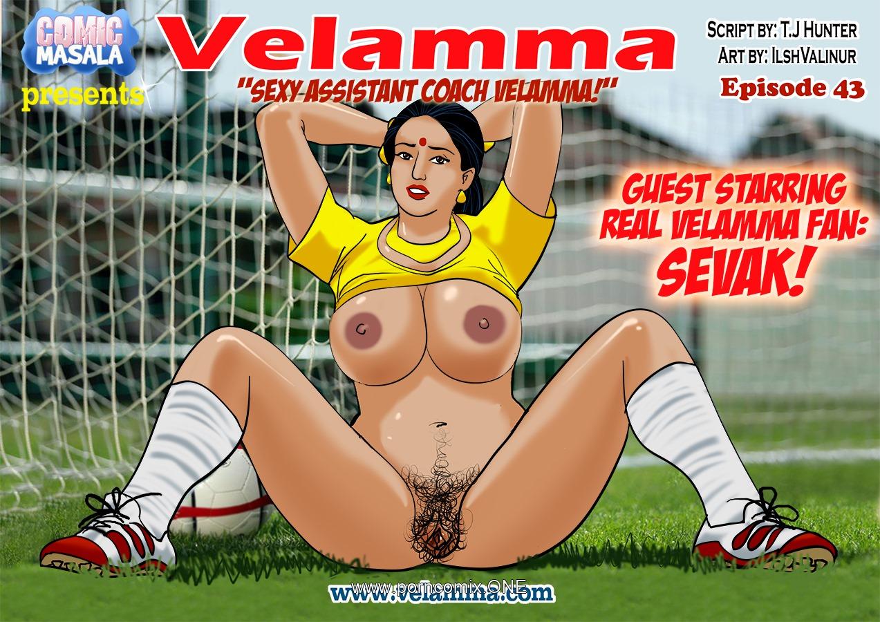 Velamma 43- Sexy Assistant Coach porn comics 8 muses