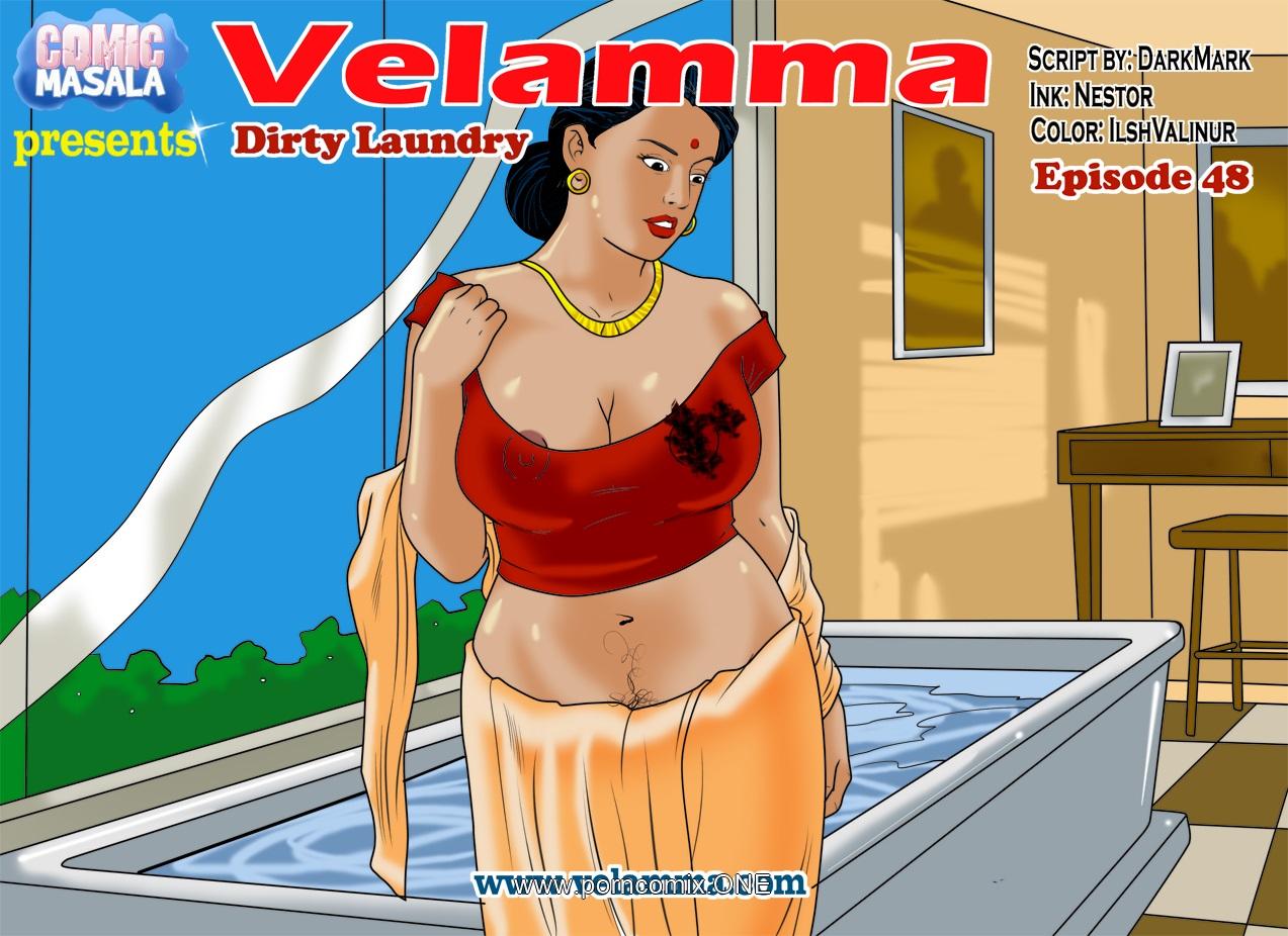 Velamma 48- Dirty Laundry porn comics 8 muses