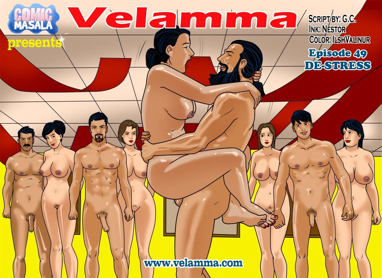 Velamma 49- De-stress porn comics 8 muses