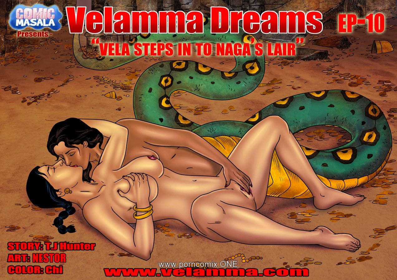 Velamma Dreams 10- Naga's lair porn comics 8 muses