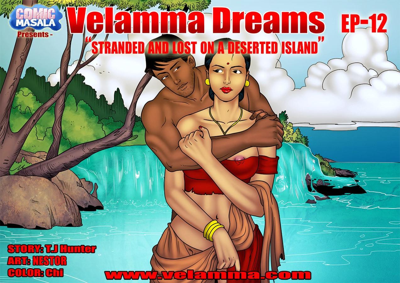 Velamma Dreams 12- Lost on Island porn comics 8 muses