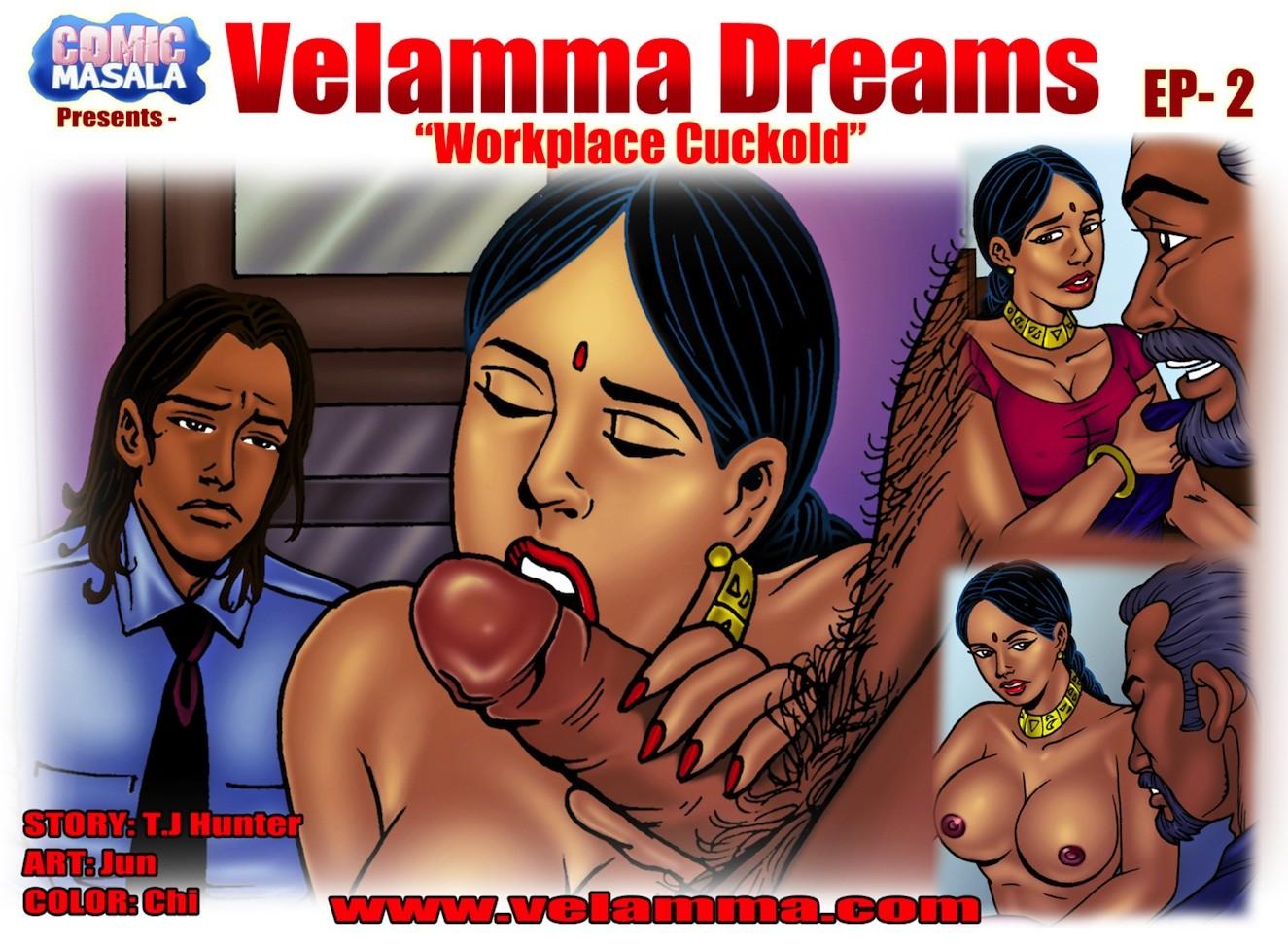 Velamma Dreams 2- Workplace Cuckold image 1