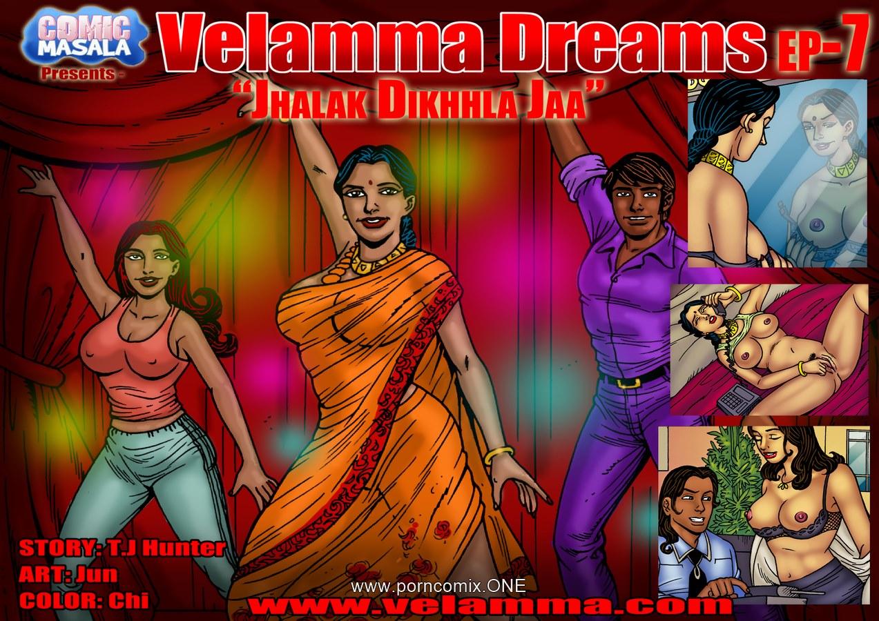 Velamma Dreams 7- Jhalak Dikhla Ja porn comics 8 muses