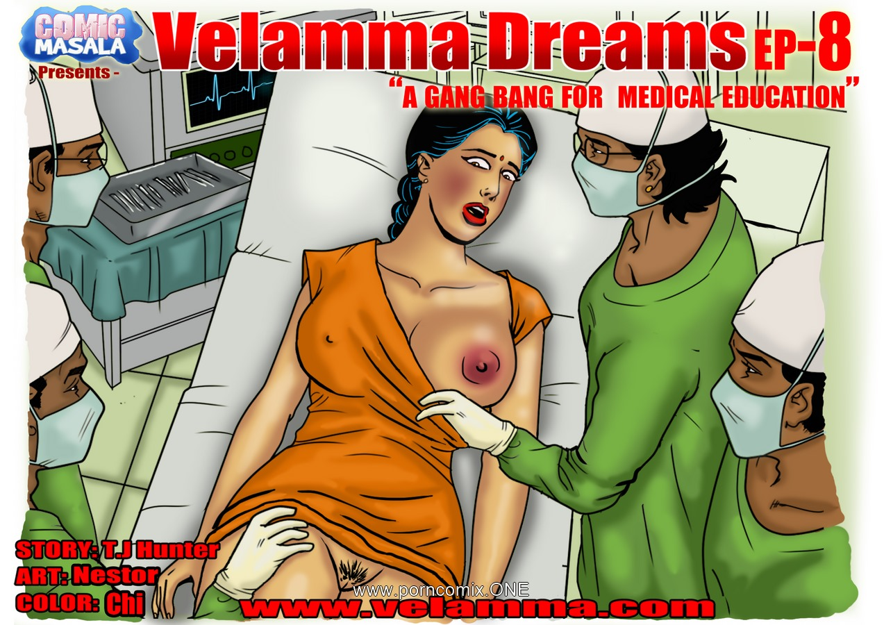Velamma Dreams 8- Gang Bang porn comics 8 muses