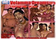 Velamma Dreams 9- Birthday Orgy for Vela porn comics 8 muses