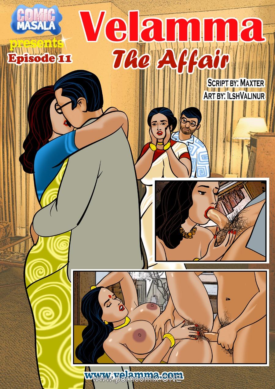 Velamma Episode 11- The Affair porn comics 8 muses