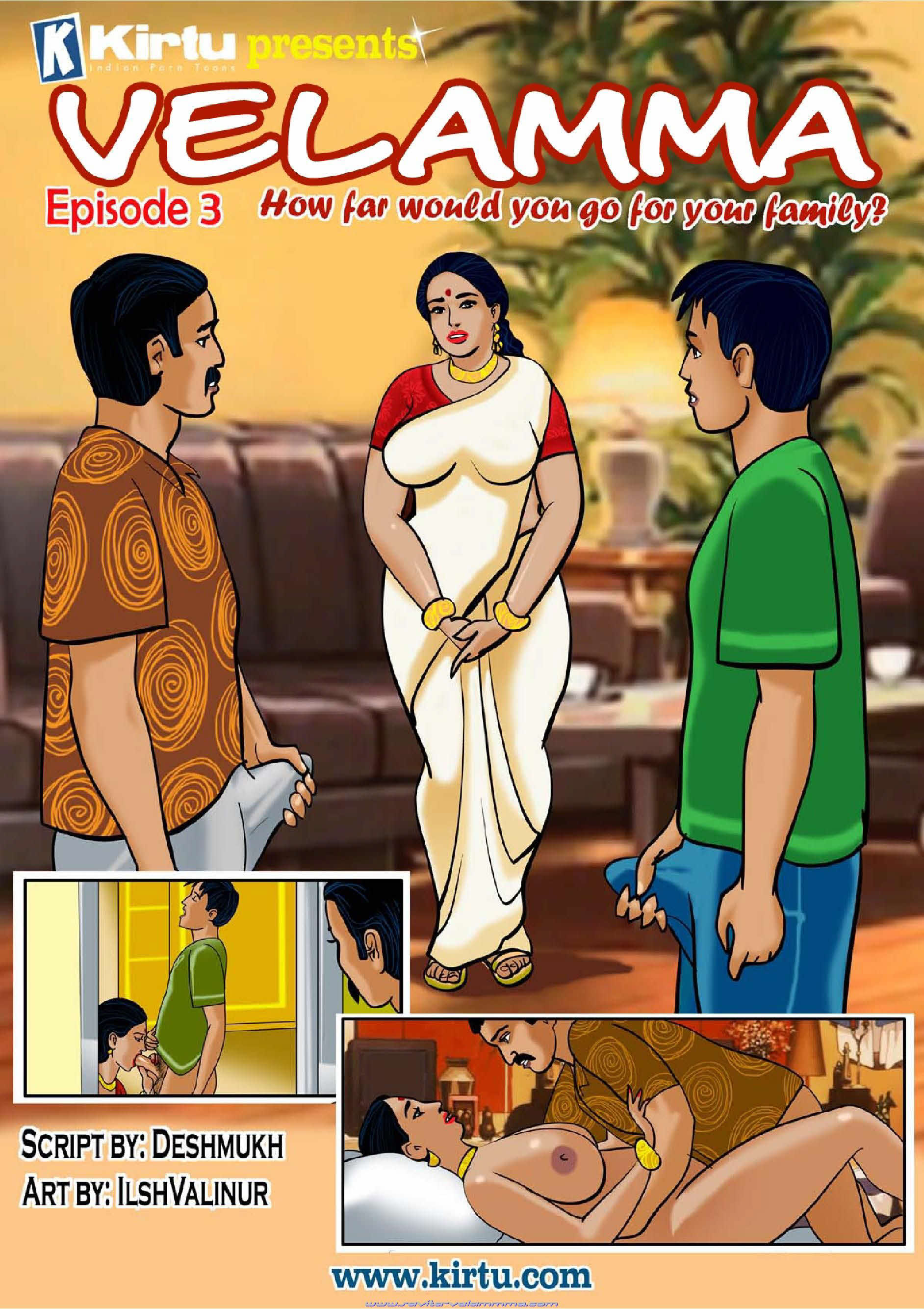 Velamma Episode 3- for your family porn comics 8 muses