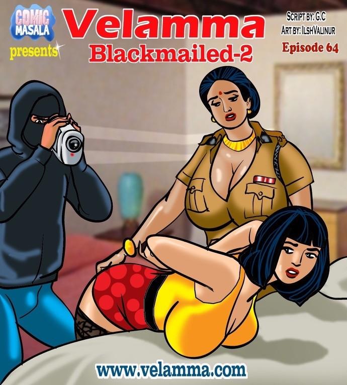 Velamma Episode 64- Blackmailed 2 image 1