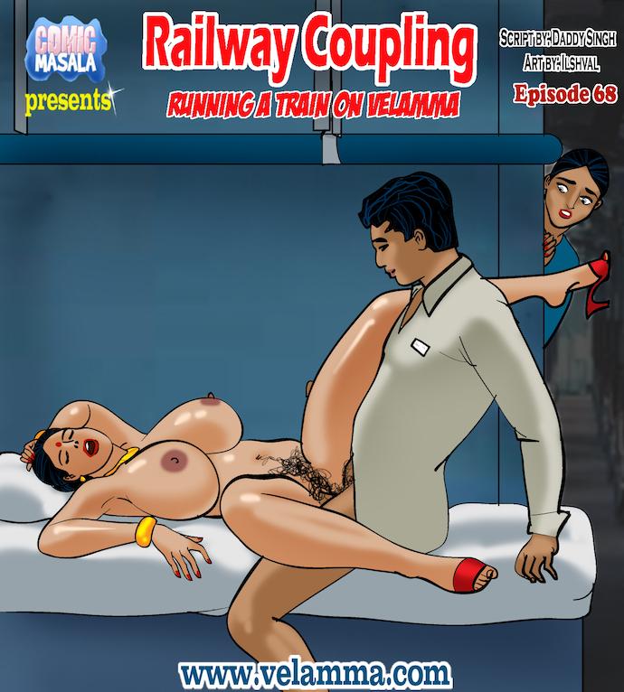 Velamma Episode 68- Railway Coupling porn comics 8 muses