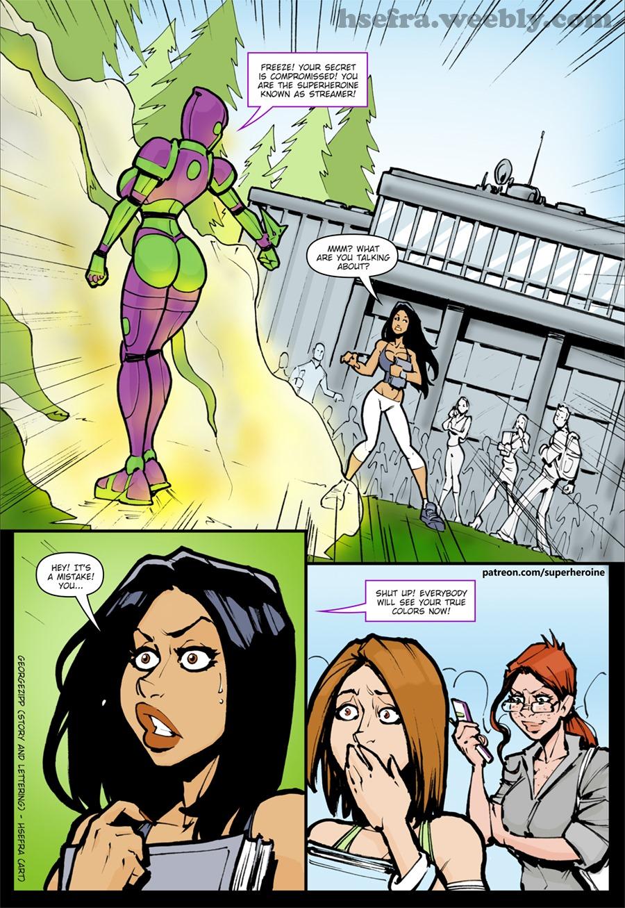 Venture (Justice League) porn comics 8 muses