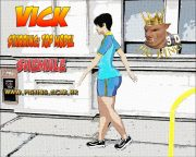 Vick- Top Model- Pig King porn comics 8 muses