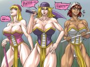 Amazons in Peril- Warrior to Slaves porn comics 8 muses