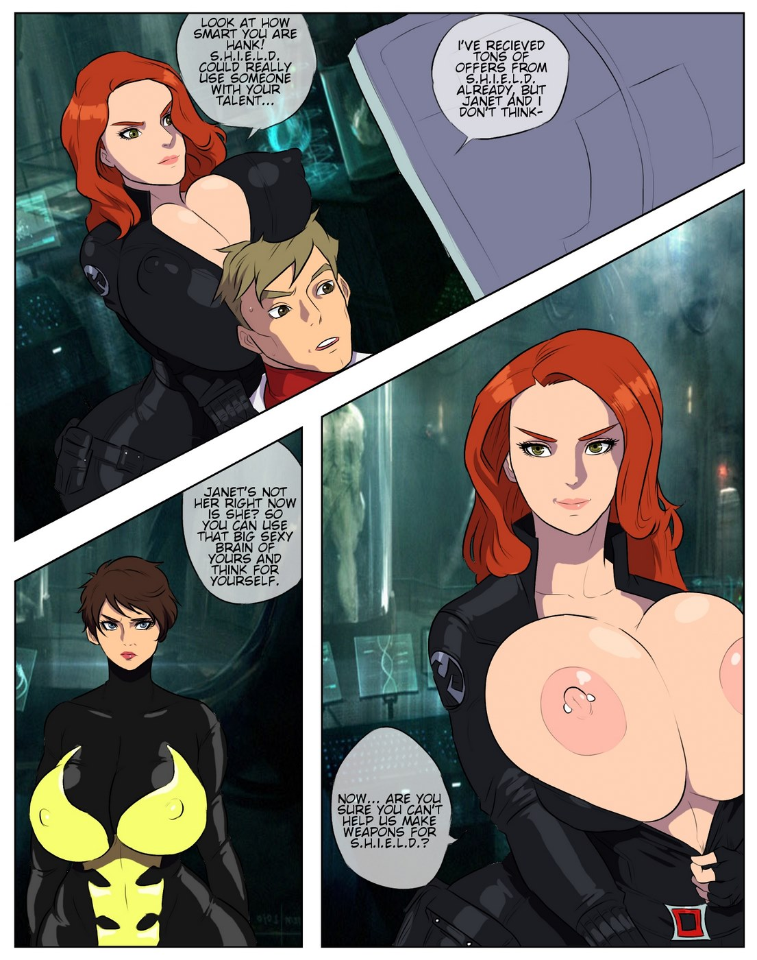 WidowWasp (Avengers)- Jay Marvello porn comics 8 muses