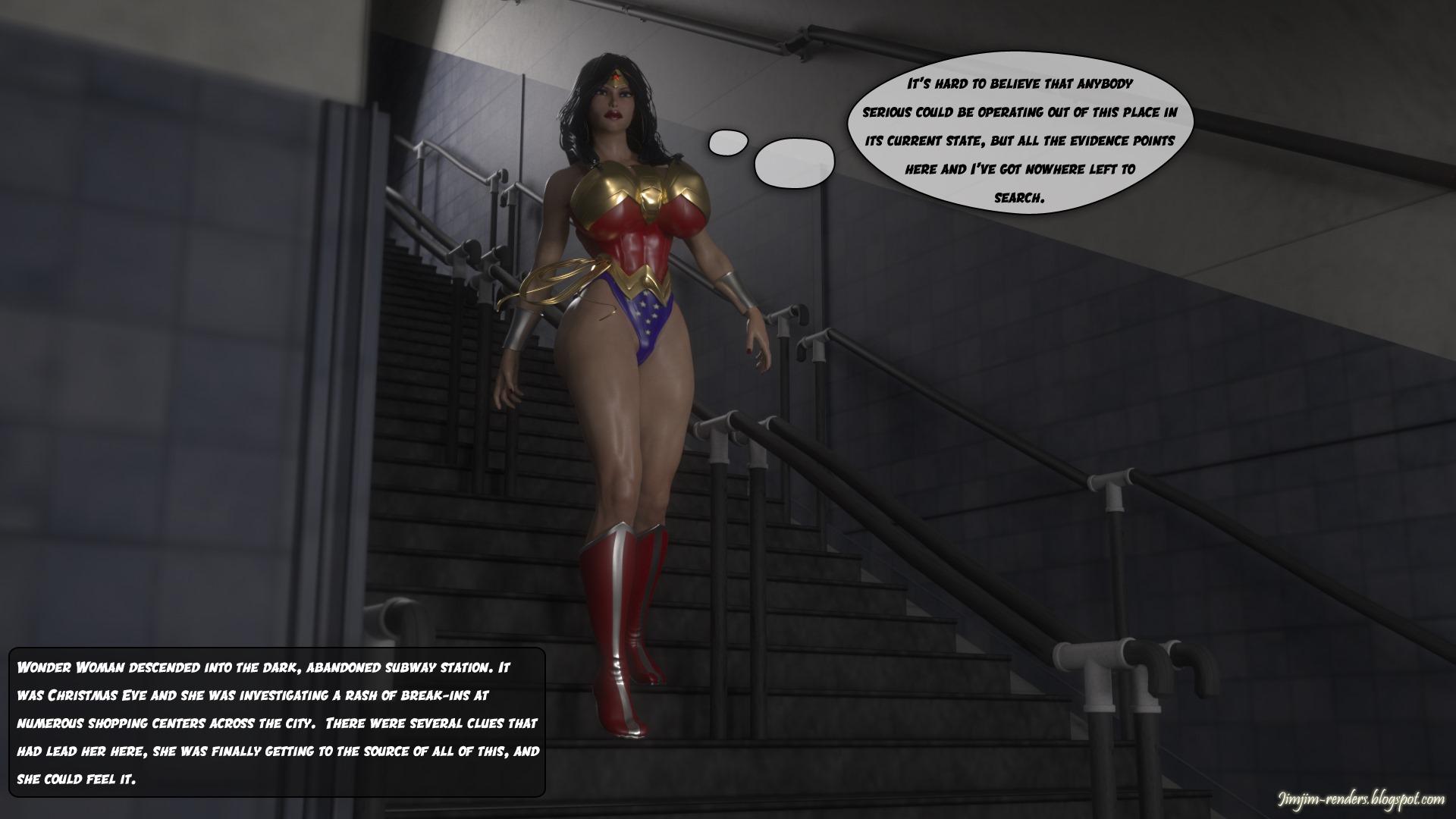 Wonder Woman vs Gremlins Part 1- JimJim porn comics 8 muses
