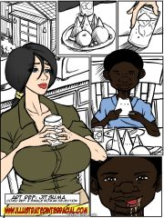 No Words-Illustrated interracial porn comics 8 muses
