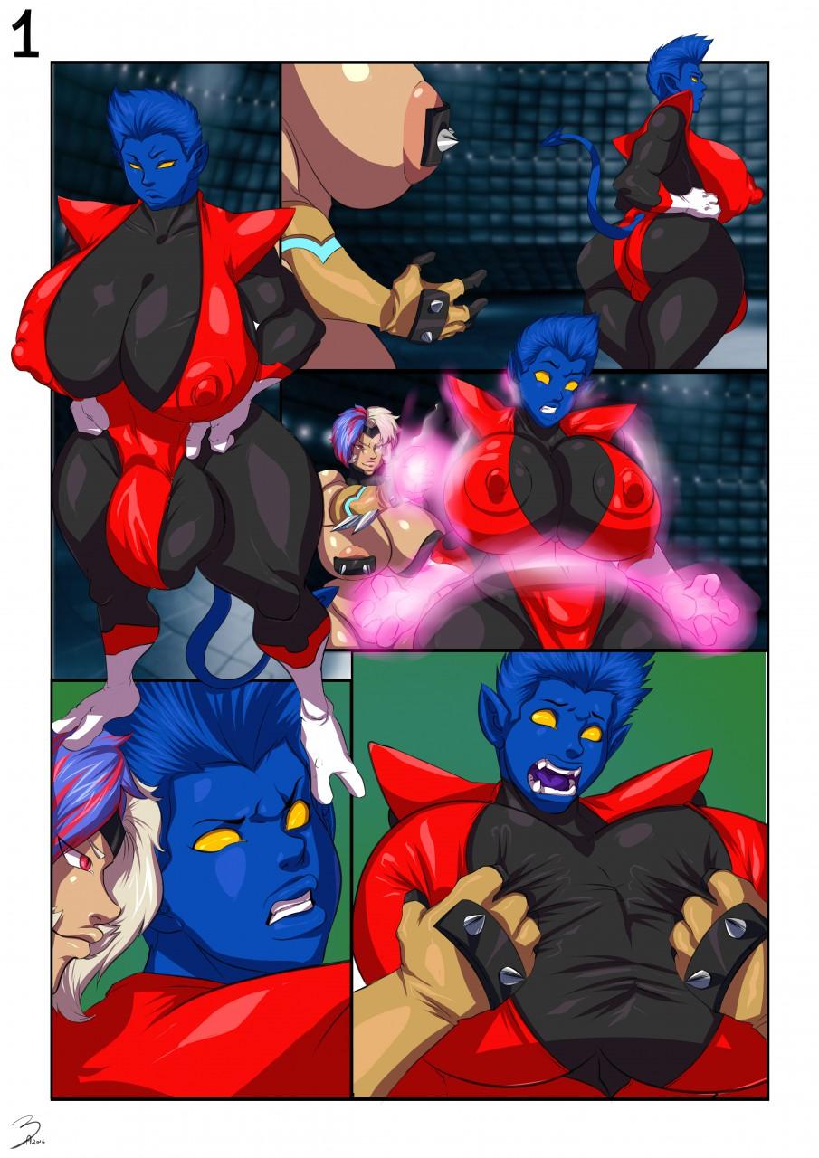 Teleport Denied (X-Men) porn comics 8 muses
