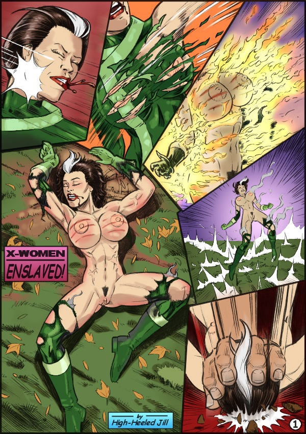 X-Women Enslaved (X-Men) porn comics 8 muses