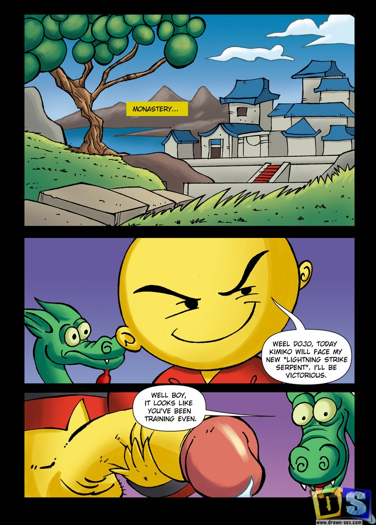 Xiaolin Showdown- Two Snakes porn comics 8 muses