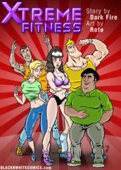 Xtreme Fitness- BlacknWhite porn comics 8 muses