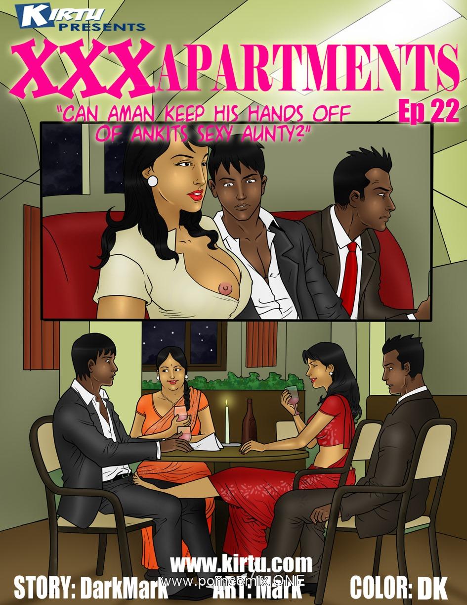 XXX Apartments 22- Ankit's sexy Aunty porn comics 8 muses
