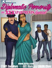 XXX Apartments- Diplomatic Perversity porn comics 8 muses