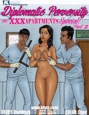 XXX Apartments Special- Diplomatic Perversity 2 porn comics 8 muses