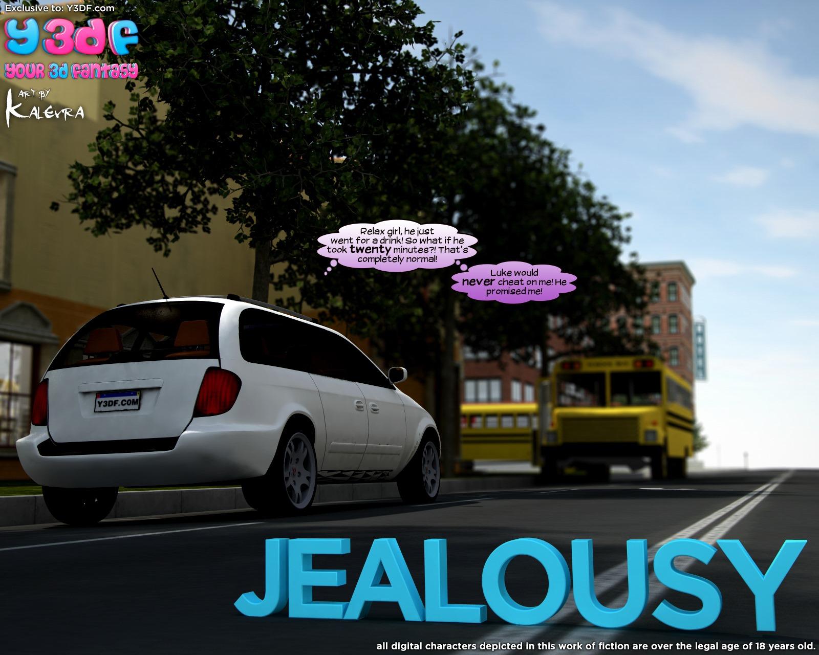 Y3DF – Jealousy porn comics 8 muses