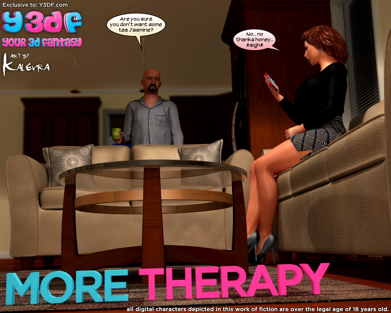Y3DF- More Therapy porn comics 8 muses