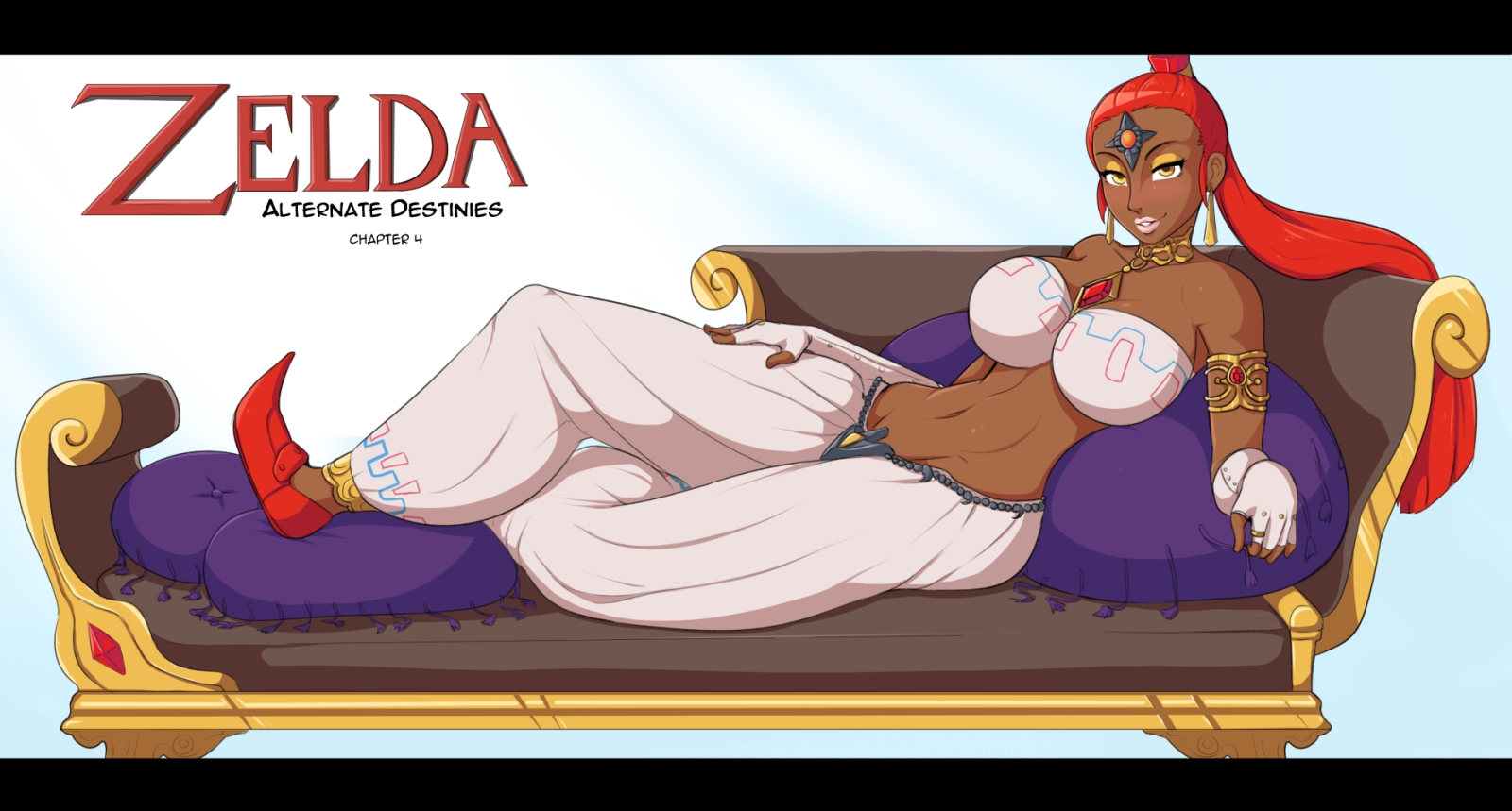 Zelda Alternate Destinies- Afrobull porn comics 8 muses