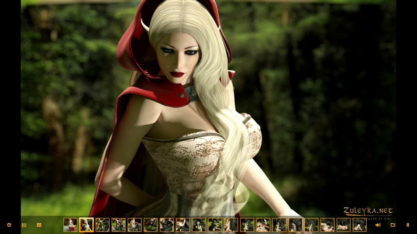 Zuleyka- Red Riding Hood porn comics 8 muses